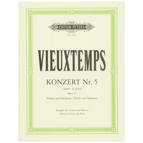 Vieuxtemps, H.: Violinkonzert Nr. 5 Op. 37 a-Moll