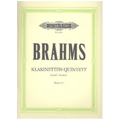 Brahms, J.: Quintett h-moll, op. 115