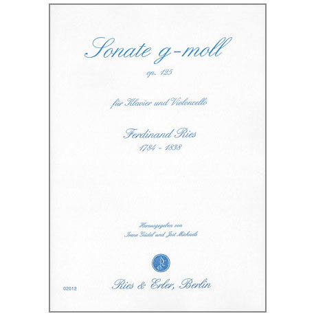 Ries, F.: Sonate Op. 125 g-Moll