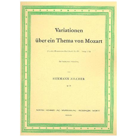Zilcher, H.: Variationen über ein Thema von Mozart Op.94