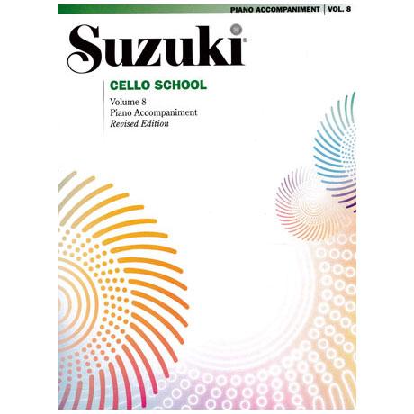Suzuki Cello School Vol.8 – Piano Accompaniment