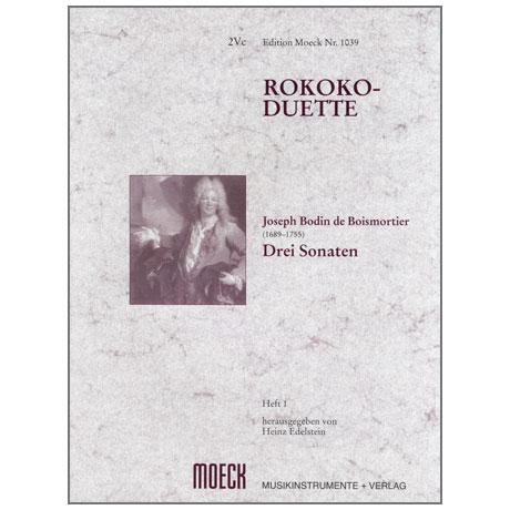 Boismortier, J. B. de: Rokoko-Duette Band 1: 3 Sonaten