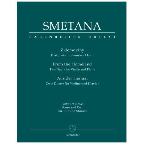 Smetana, B.: Zwei Duette