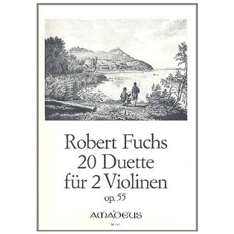 Fuchs, R.: 20 Duette Op.55