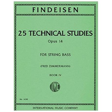 Findeisen, Theodor: 25 Technical Studies, Op. 14