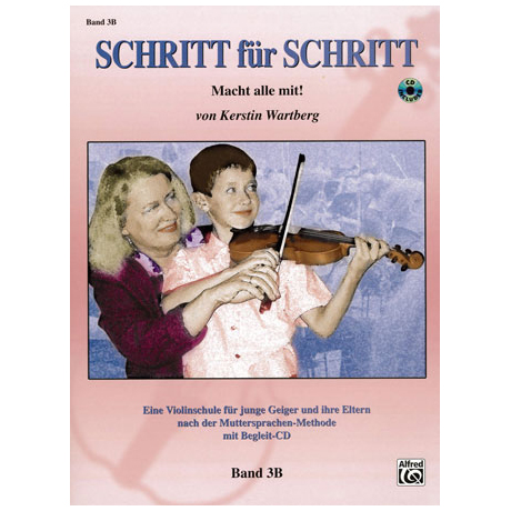 Wartberg, K.: Schritt für Schritt Band 3B (+CD)