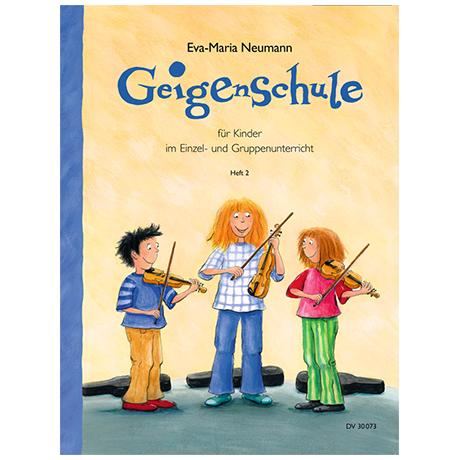 Neumann, E.M.: Geigenschule Heft 2