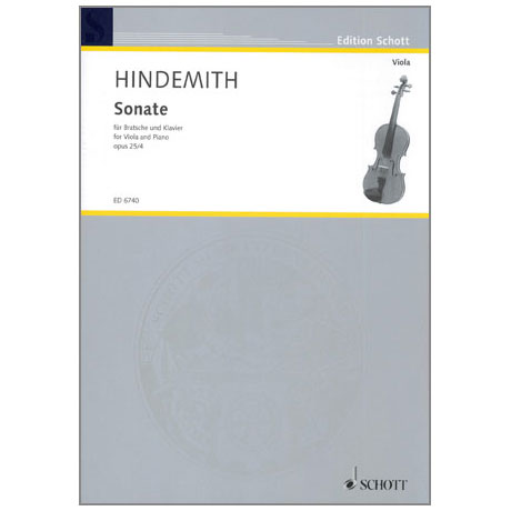 Hindemith, P.: Sonate Op.25/4