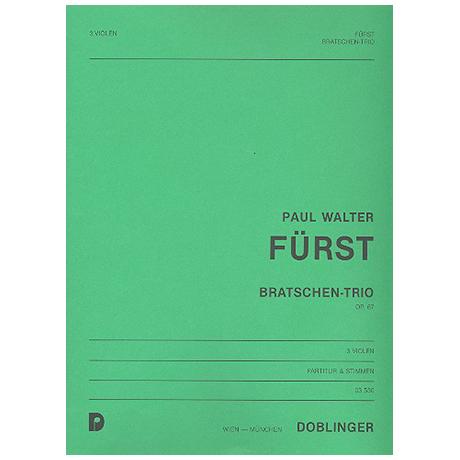 Fürst, P.W.: Bratschen-Trio Op.67