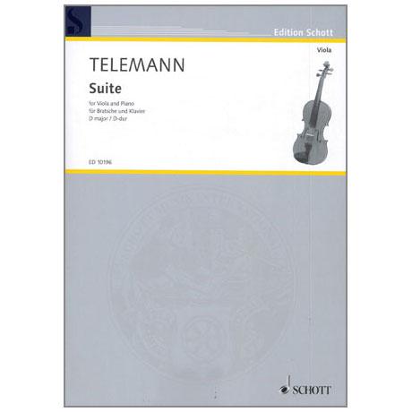 Telemann, G. Ph.: Viola-Suite TWV41: D 2 D-Dur