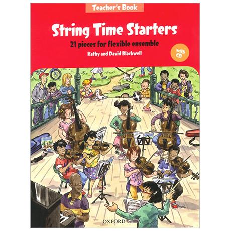 Blackwell, K. & D.: String Time Starters – Teacher's Book (+CD)