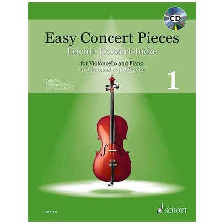 Deserno, K. / Mohrs, R.: Easy Concert Pieces Band 1 (+CD)