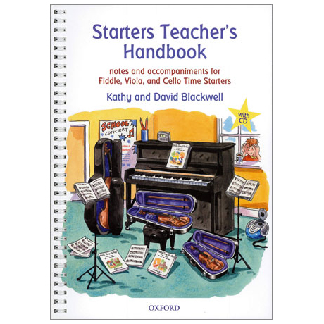 Blackwell: Starters Teacher's Handbook (+CD)