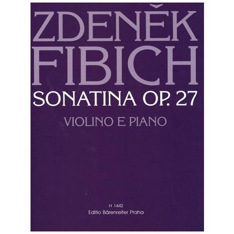 Fibich, Z.: Sonatine Op. 27