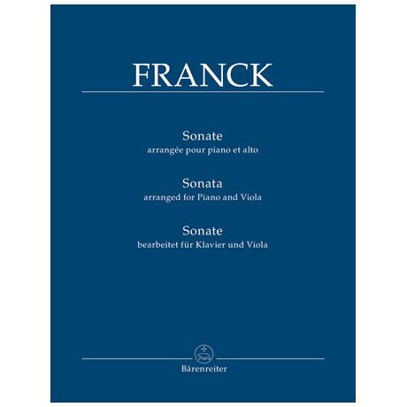 Franck, C.: Sonate