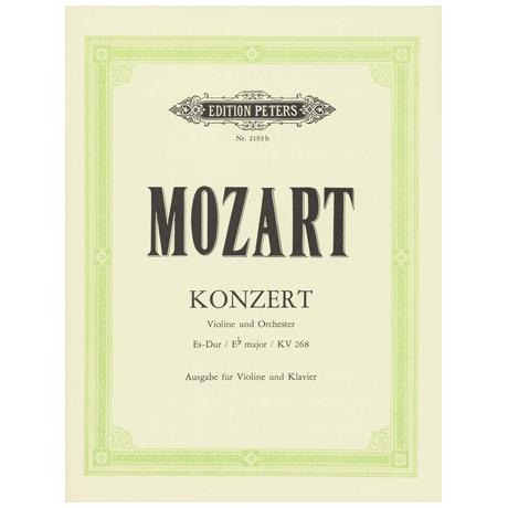 Mozart, W.A.: Violinkonzert Nr. 6 Es-Dur, KV 268