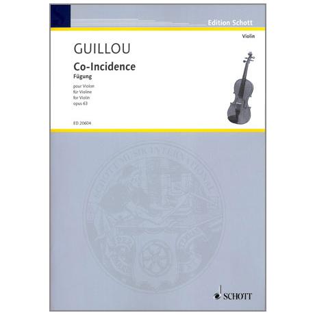 Guillou, J.: Co-Incidence, op. 63
