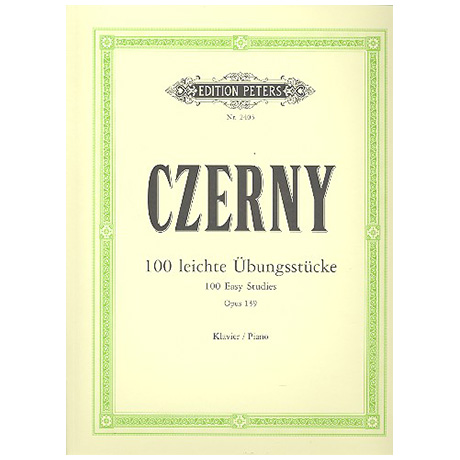 Czerny, C.: 100 leichte Übungsstücke Op. 139