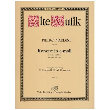 Nardini, P.: Violinkonzert e-Moll
