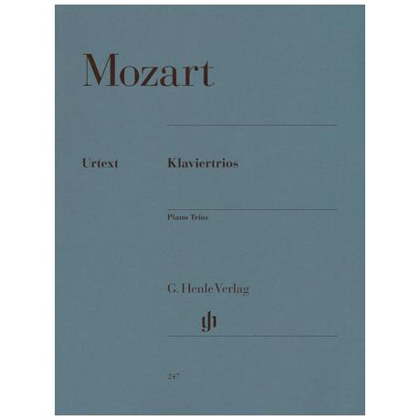 Mozart, W.A.: Sämtliche Klaviertrios KV 254, 496, 498, 502, 542, 548, 564 Urtext
