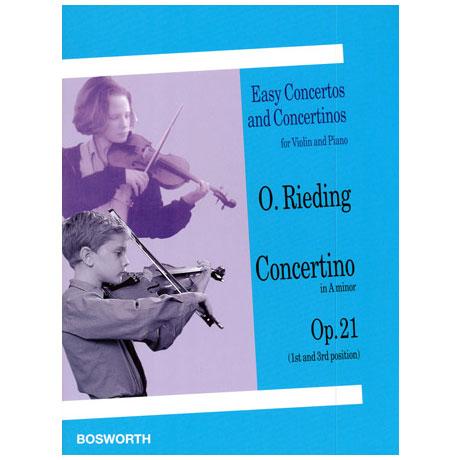 Rieding, O.: Concertino in a-moll op.21
