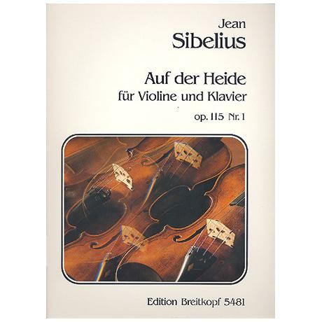 Sibelius, J.: Auf der Heide Op.115 Nr.1