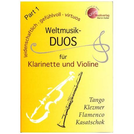 Weltmusik-Duos für Klarinette und Violine
