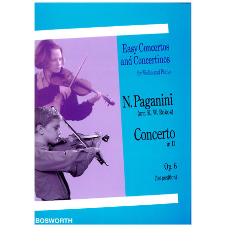 Paganini, N.: Concerto in D-Dur op. 6