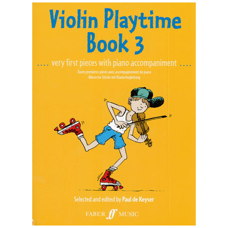 Violin Playtime 3 - Very first pieces..