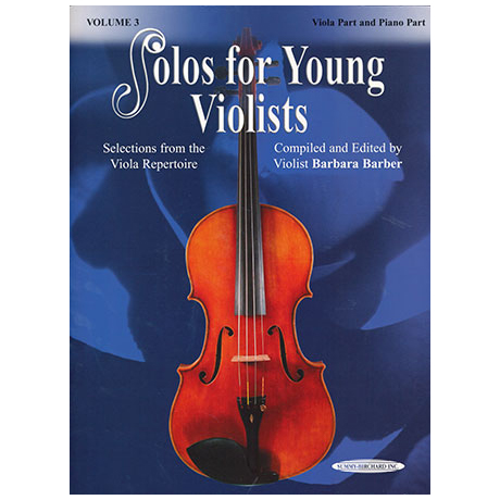 Solos for Young Violists Vol.3