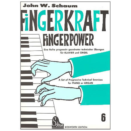 Schaum, John W.: Fingerkraft Band 6