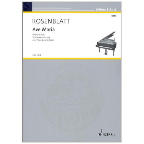 Rosenblatt, A.: Ave Maria