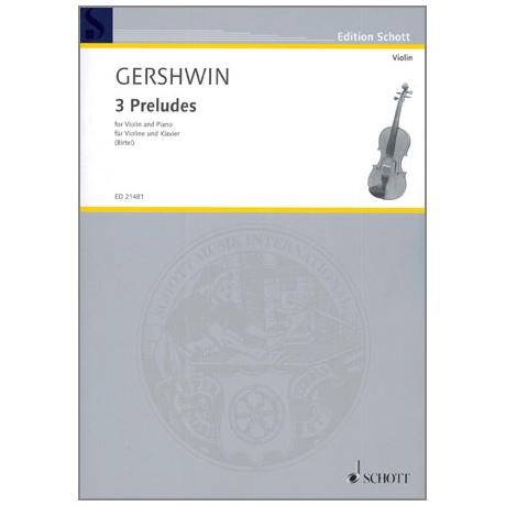 Gershwin, G.: 3 Preludes