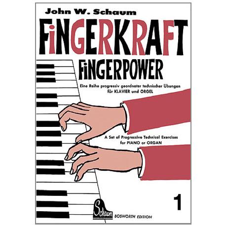 Schaum, John W.: Fingerkraft Band 1
