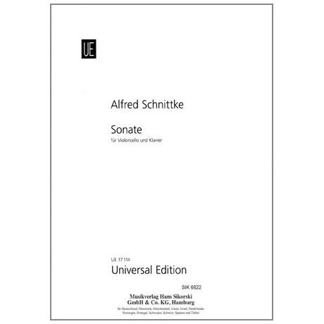 Schnittke, A.: Sonate