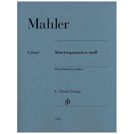 Mahler, G.: Klavierquartett a-Moll