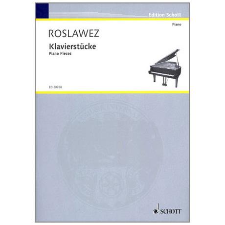 Roslawez, N. A.: Klavierstücke