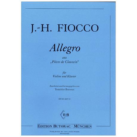 Fiocco, J.-H.: Allegro