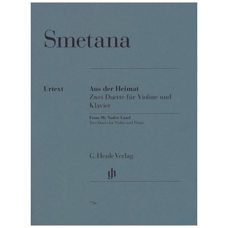 Smetana: Aus der Heimat