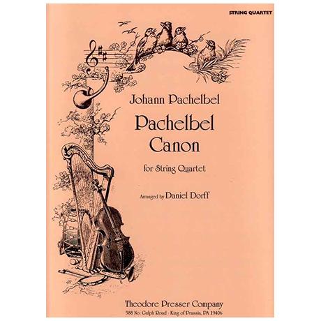 Pachelbel, J.: Canon – for String Quartet