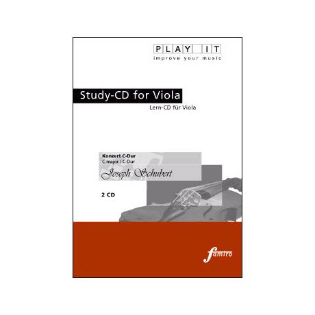 Schubert, Joseph : Konzert C-Dur (nur CD)