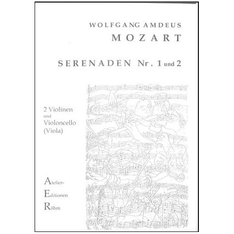Mozart, W.A.: Serenade I und II