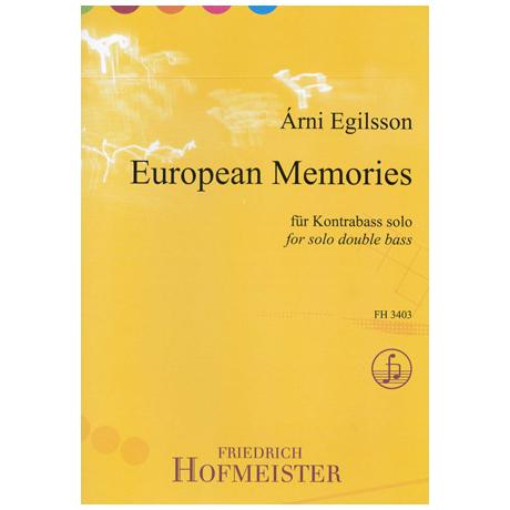 Egilsson, Á.: European Memories