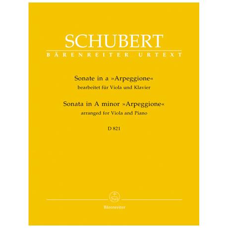 Schubert, F.: Sonate in a 'Arpeggione' D 821