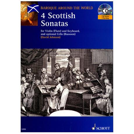 Johnson: Vier schottische Sonaten (+ CD)