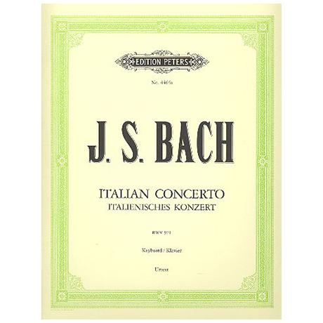 Bach, J.S.: Italienisches Konzert BWV 971