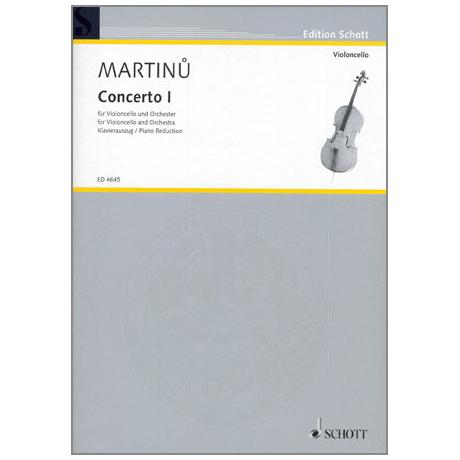 Martinu, B.: Violoncellokonzert Nr. 1