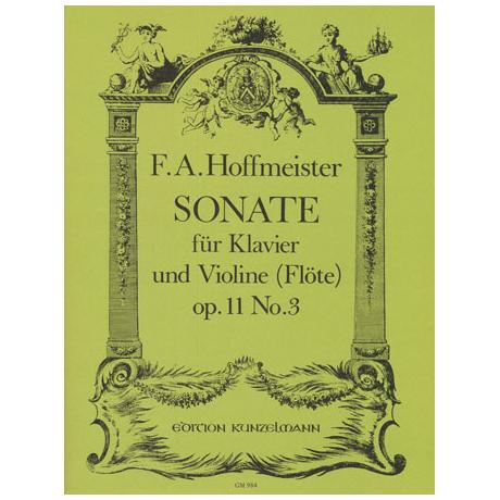 Hoffmeister, F.A.: Sonate Es-Dur Op.11/3