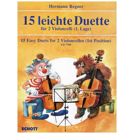 Regner, H.: 15 leichte Duette