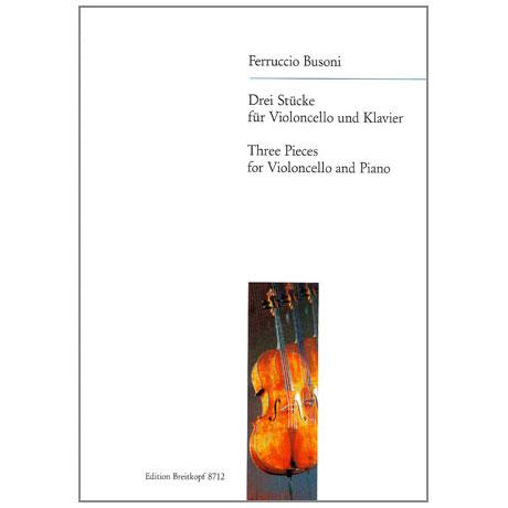 Busoni, F.: Drei Stücke: Märchen - Serenata - Kultaselle